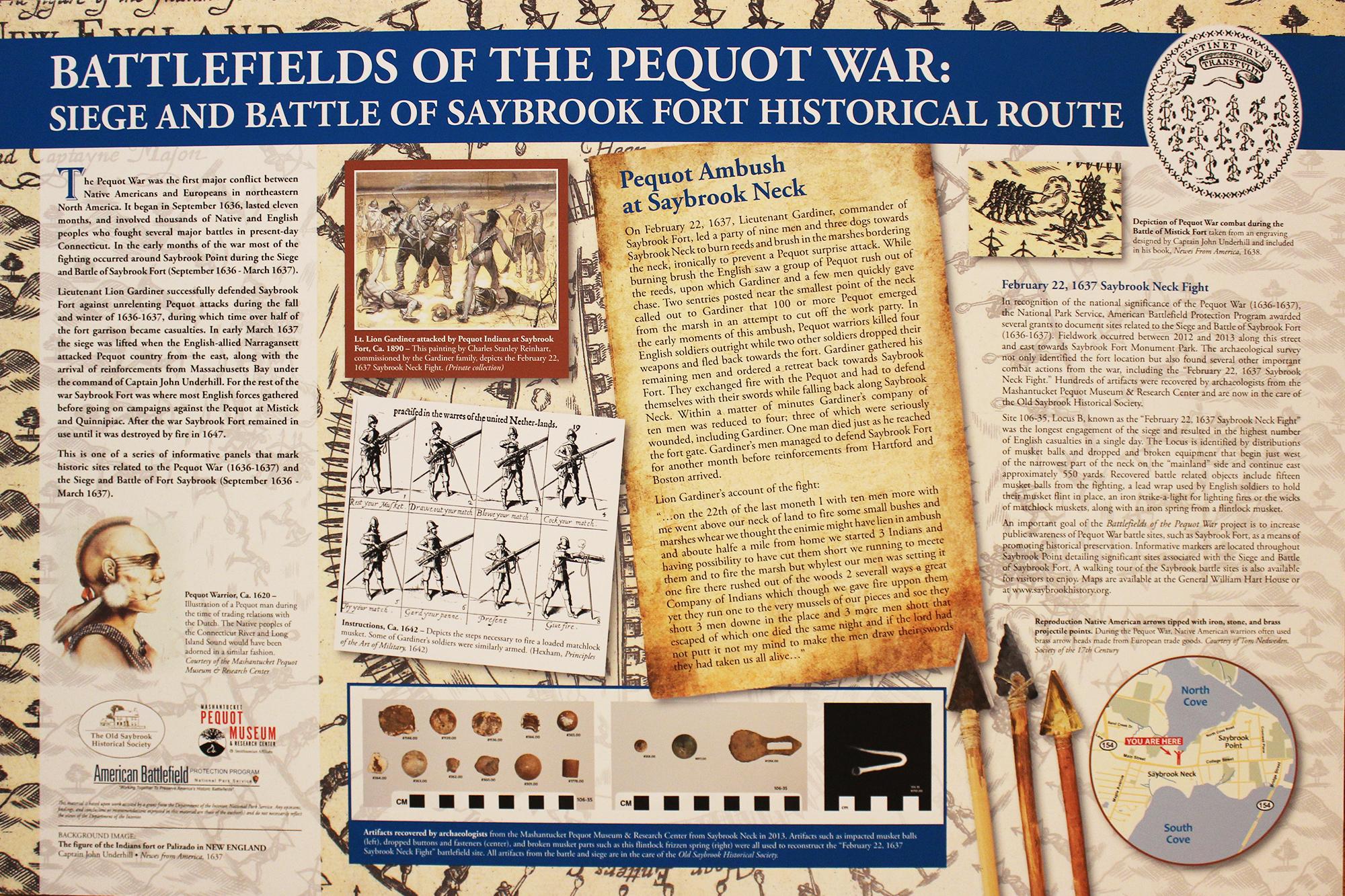 Seige & Battle of Saybrook Fort