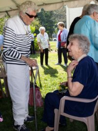 Bucky and Barbara during Bucky's 100th Birthday Celebration!