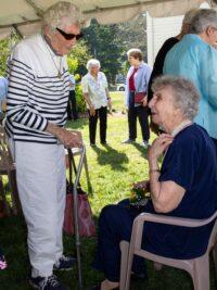 Bucky and Barbara during Bucky's 100th Birthday Celebration!